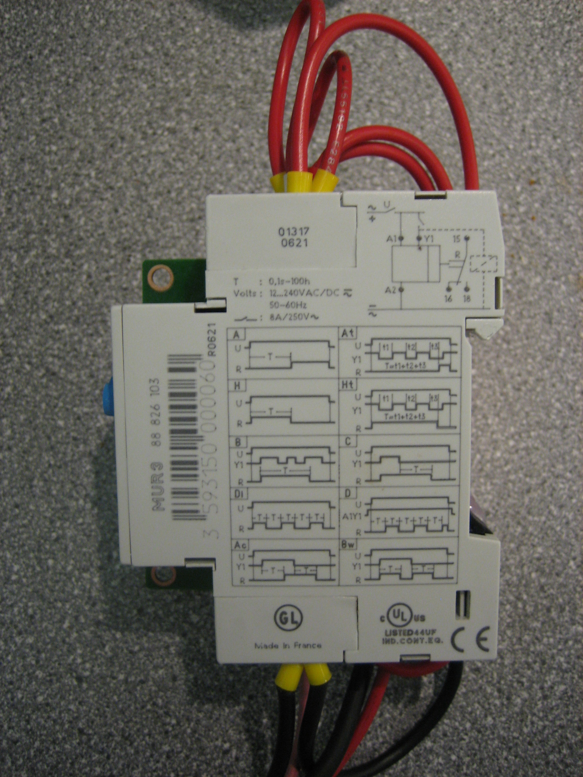 Admin 12 Volt Timer Relay Maplin The Itself Is A Spdt 10 Function Timer1sec 100hr Rs Part Number 385 6957